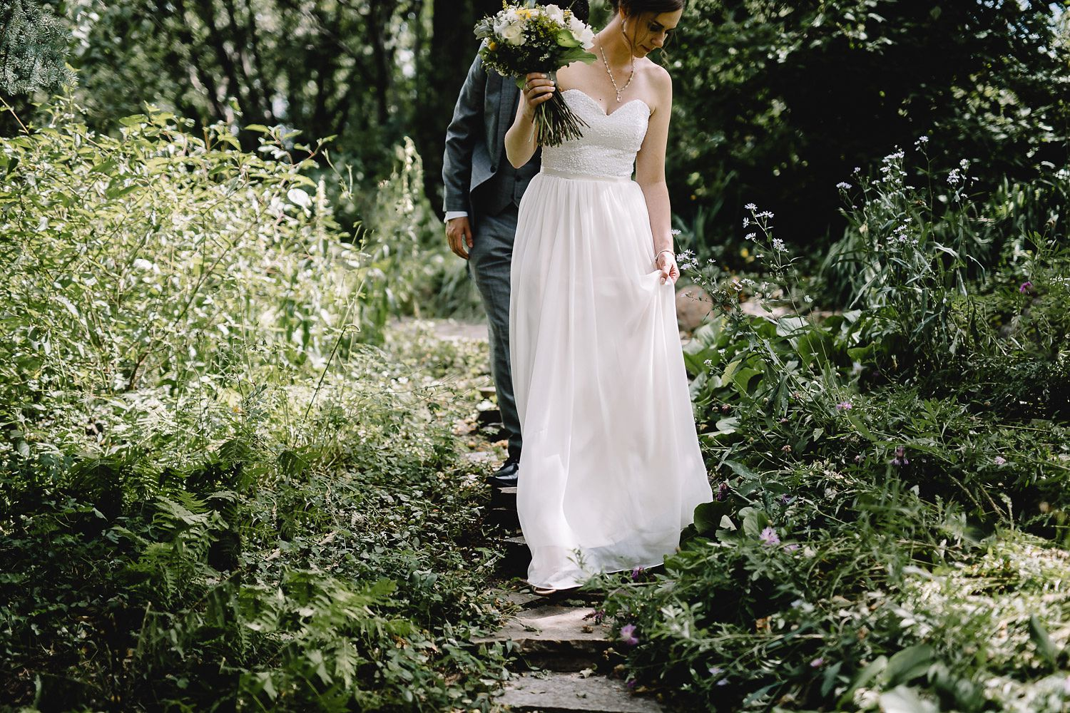 reader rock garden first look - Calgary Wedding Photographers_3511