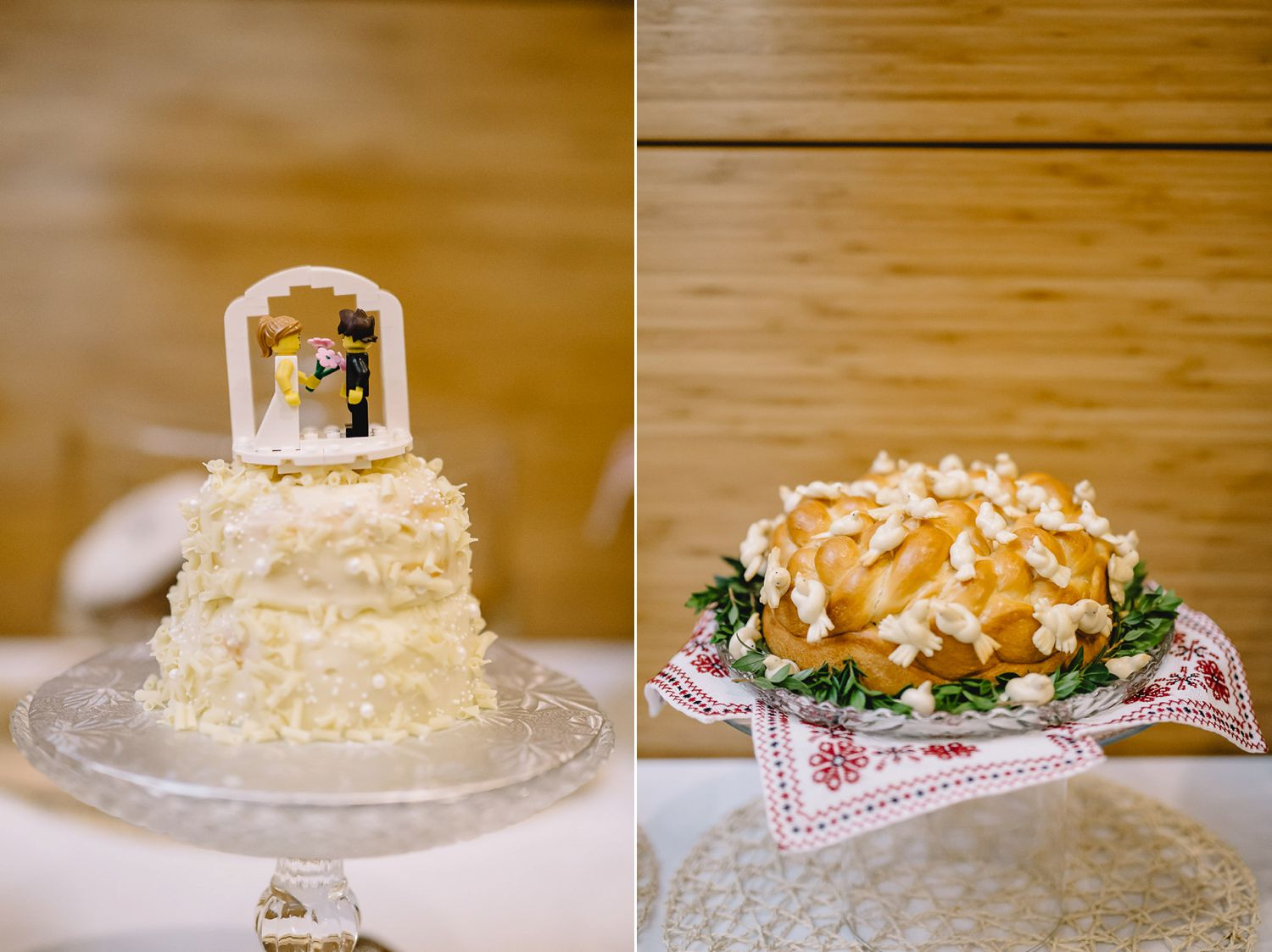 Jelly Modern Donut wedding cake