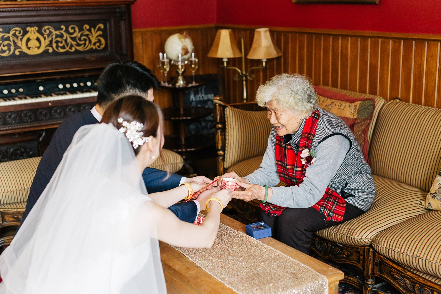 Tea Ceremony at bow valley ranche - Calgary Wedding Photographer_4369