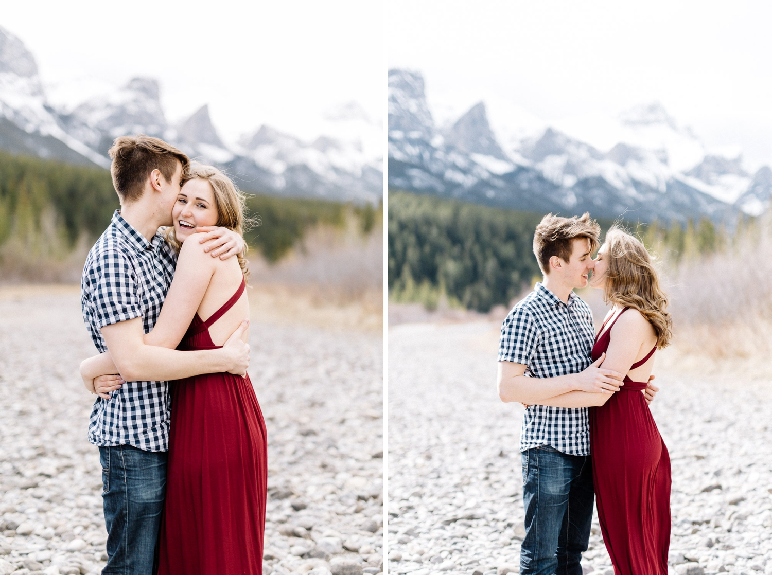 rocky mountain engagement session - Calgary Wedding Photographer_4481