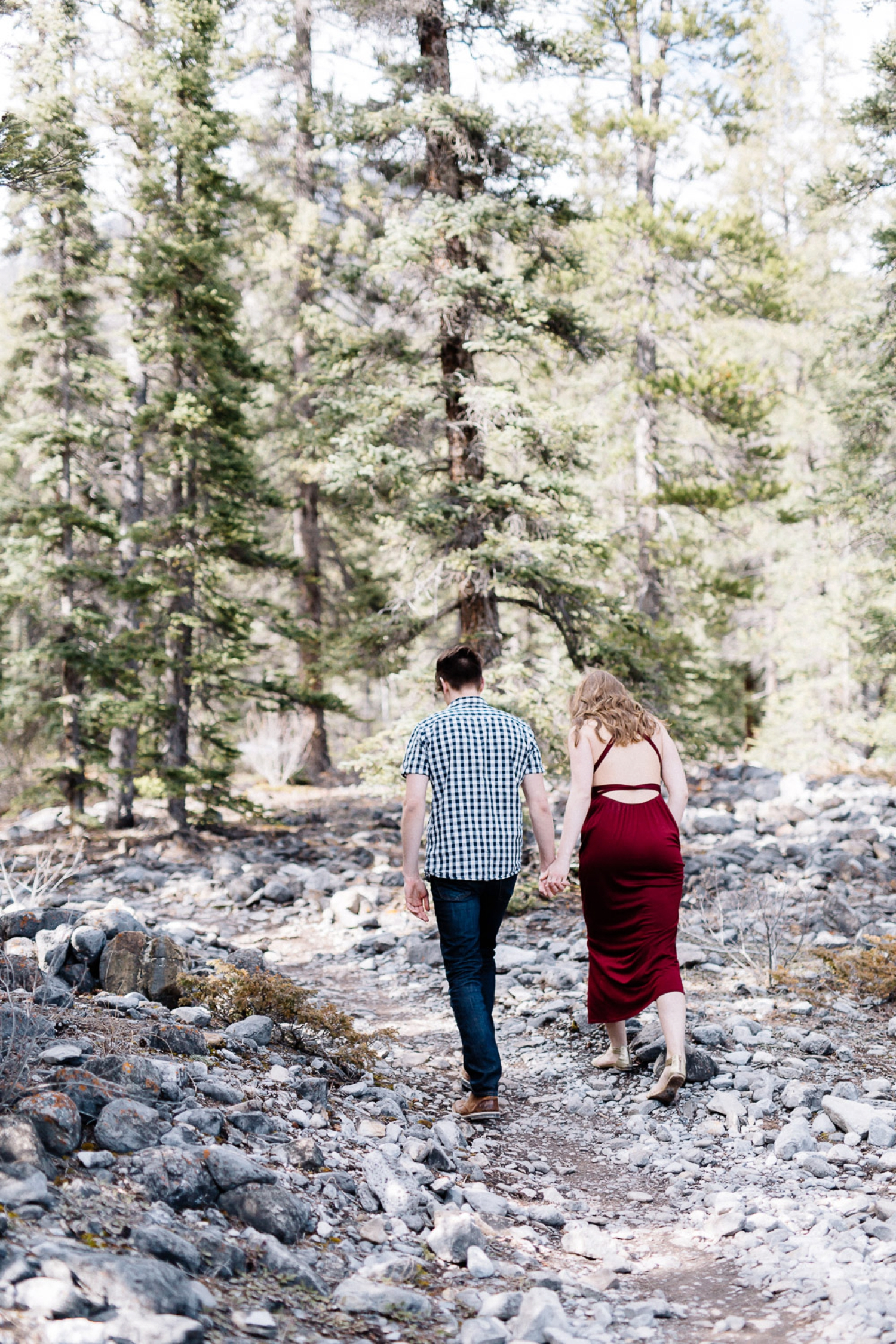 mountain engagement session - Calgary Wedding Photographer_4493