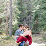 canmore engagement session - calgary wedding photographer
