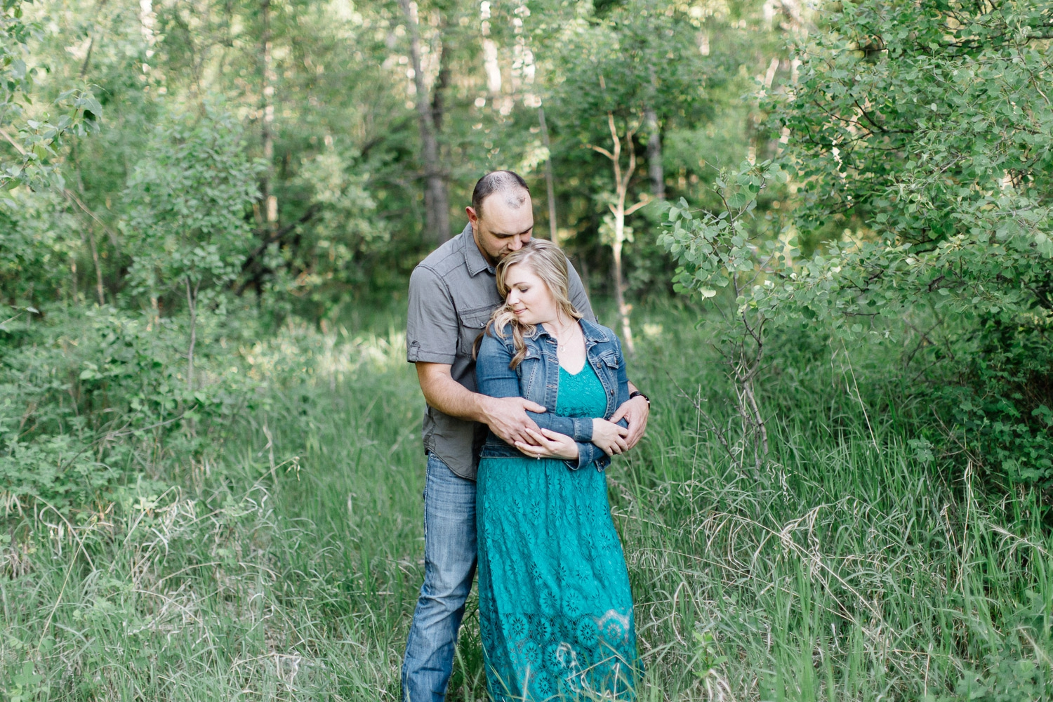 woodland engagement session - Calgary Wedding Photographer_4637