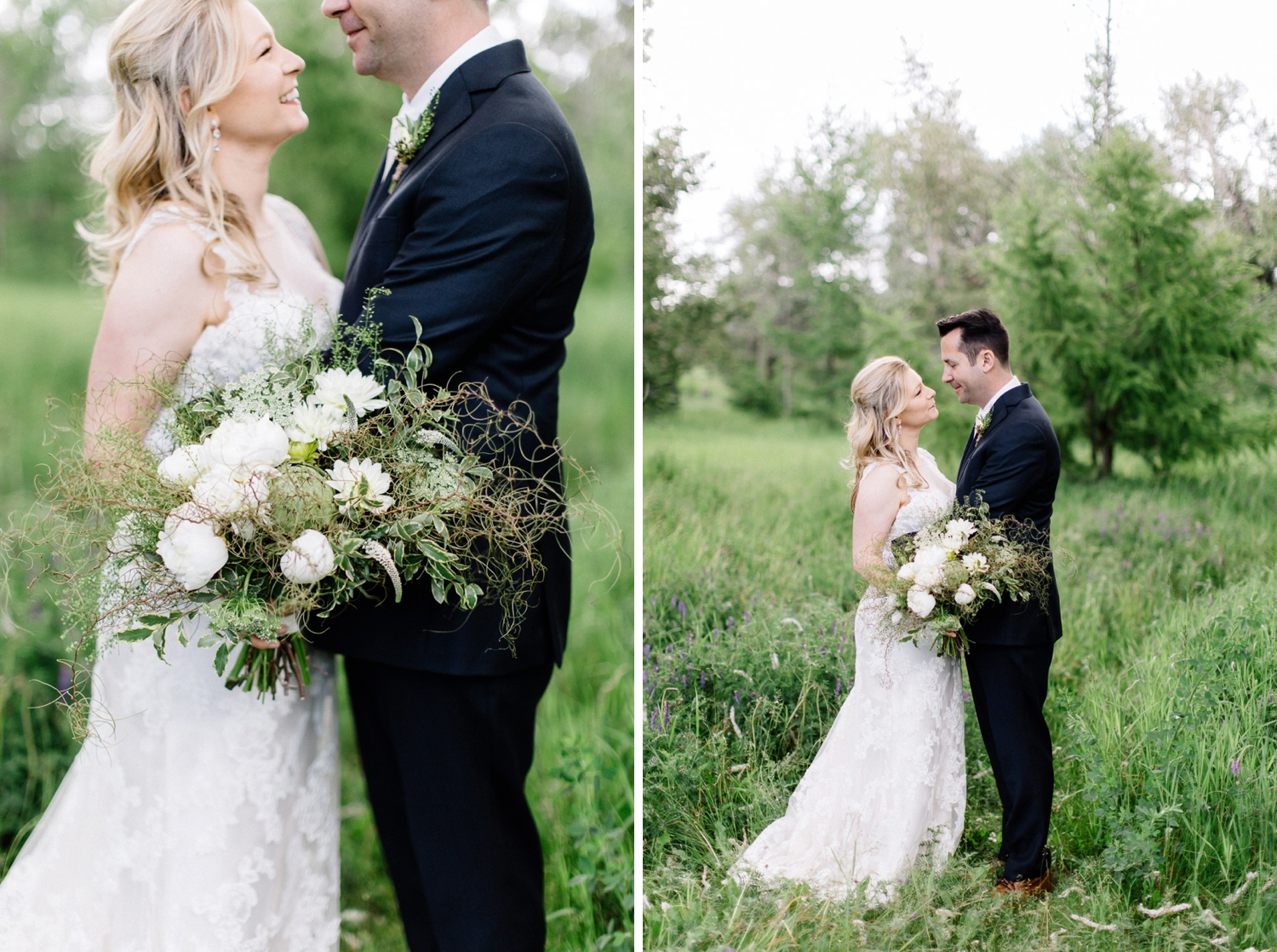nature wedding - calgary wedding photographer