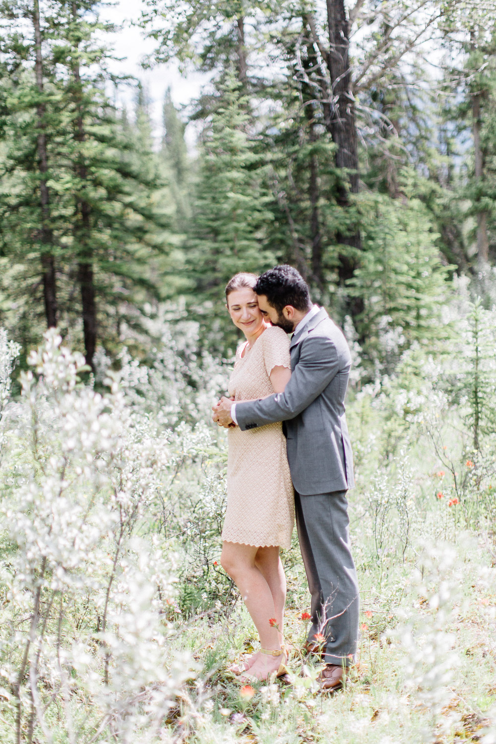 Banff elopement photographer - calgary wedding photographer