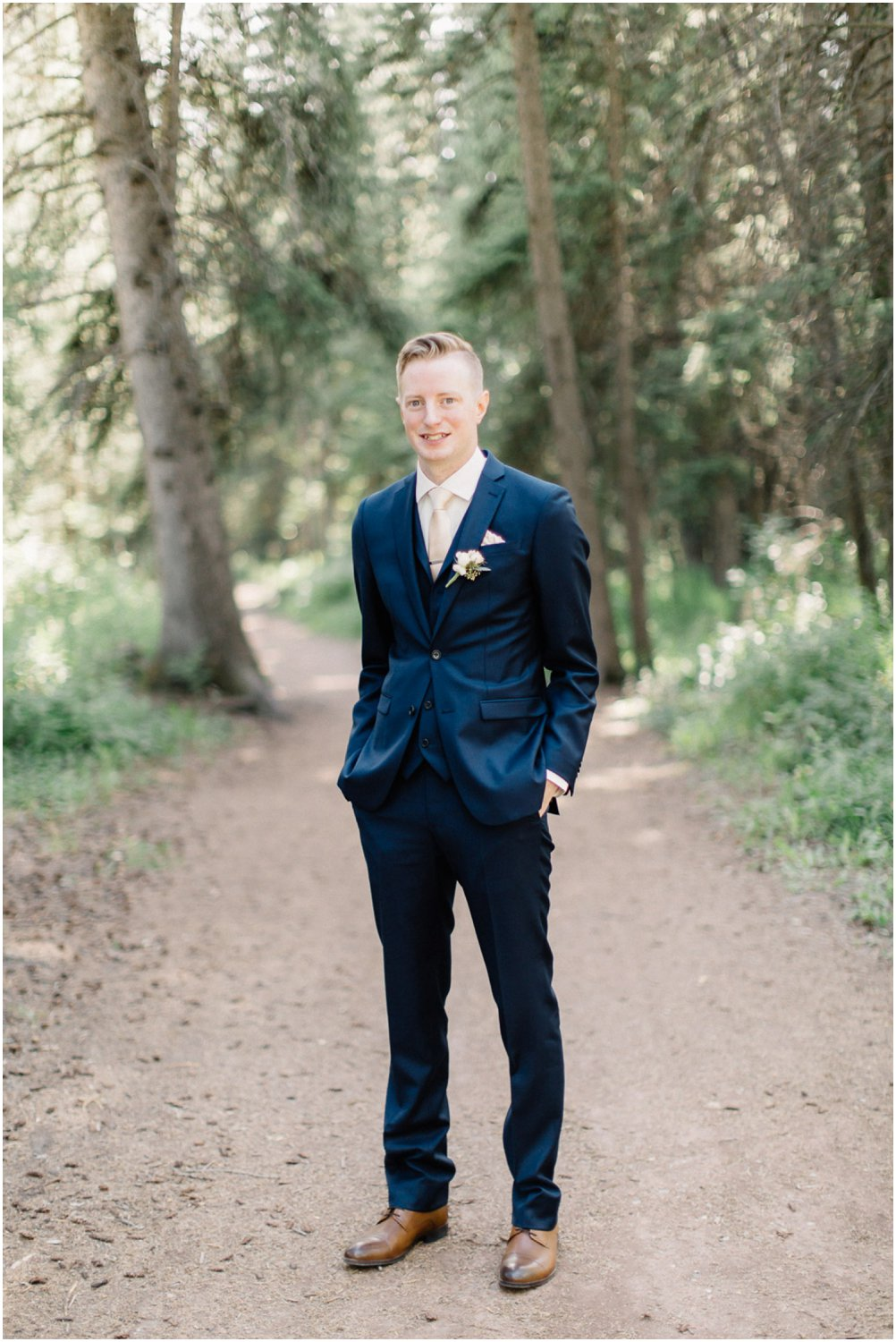 Handsome Groom - Calgary Wedding Photographer_4842