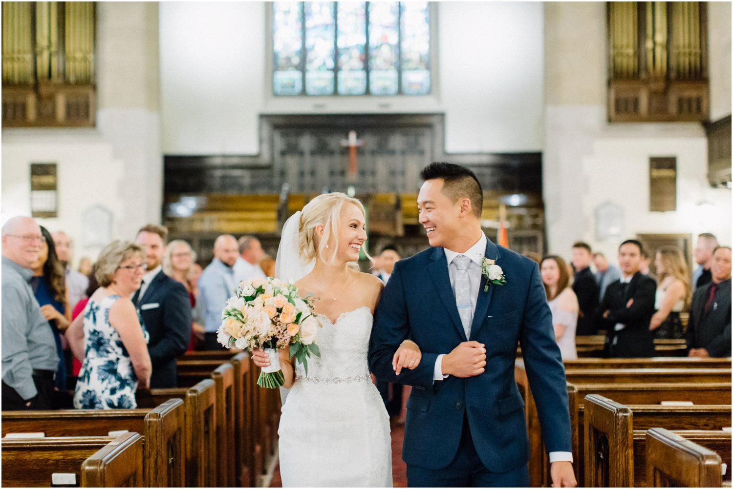 Knox united church wedding