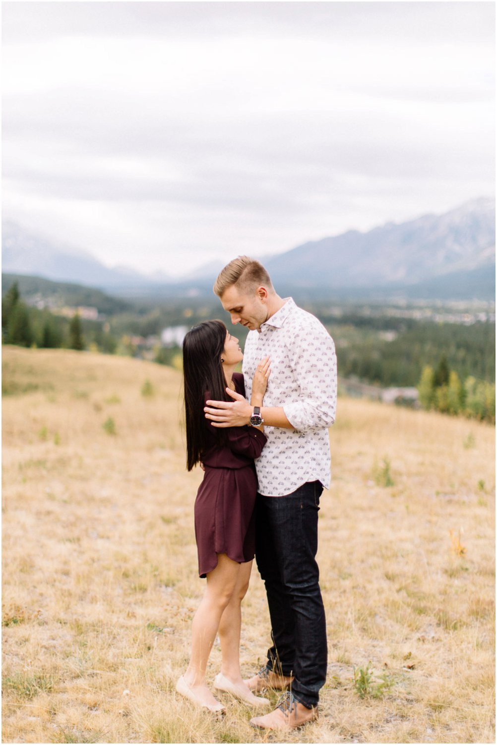 Fall engagement in canmore - Calgary Wedding Photographers_5045