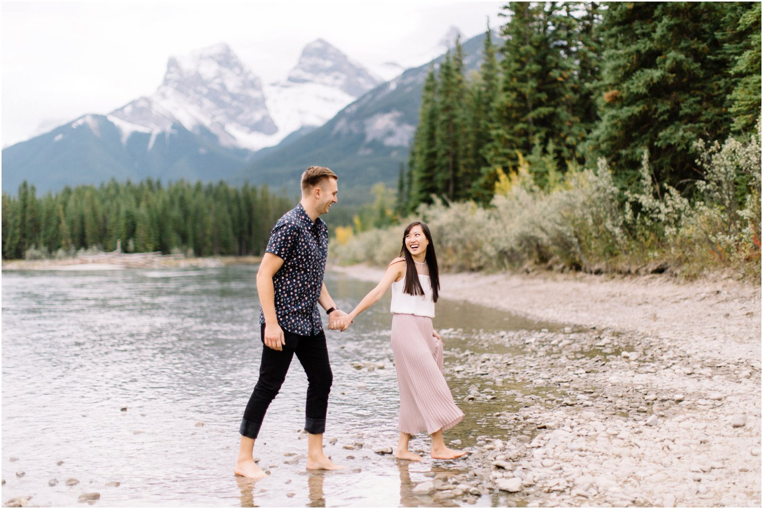 Banff Engagement session - Calgary Wedding Photographer_5070