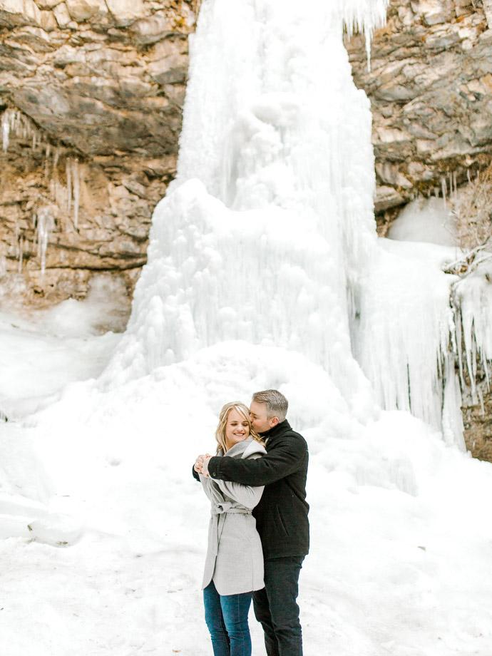 Troll Falls Kananaskis - Calgary Wedding Photographers-42