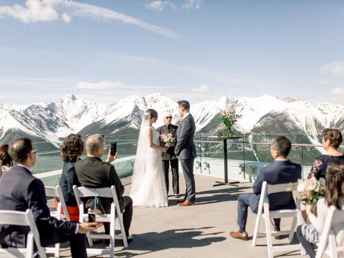 Wedding at the Banff Gondola - Calgary Wedding Photographers-43