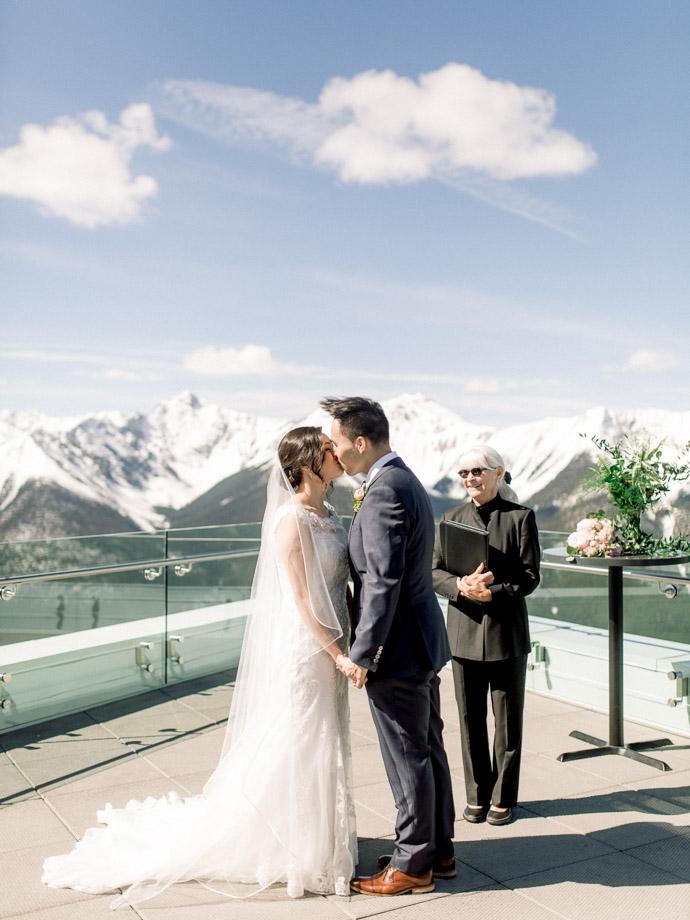 Sky bistro wedding - Banff Wedding photographer