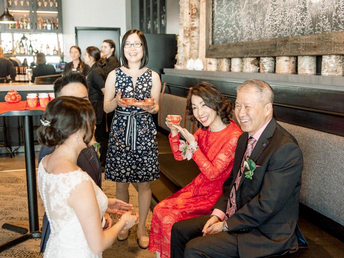 Banff Tea Ceremony - Banff Wedding Photographer