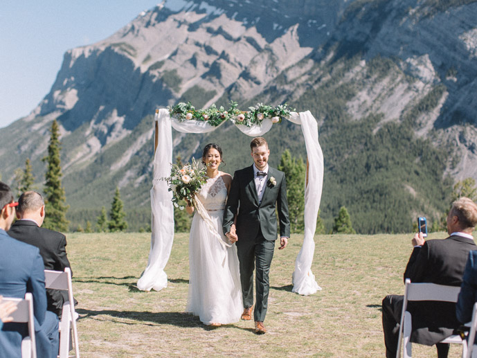tunnel mountain banff wedding - banff elopement photographers
