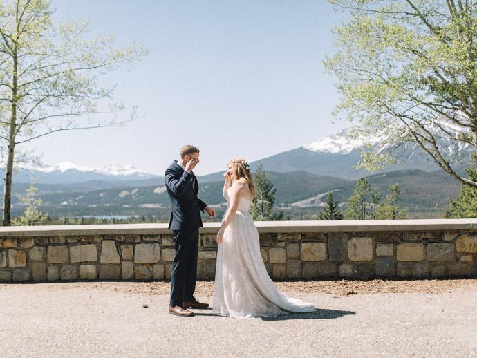 Maligne Lookout - Jasper Wedding Photographers
