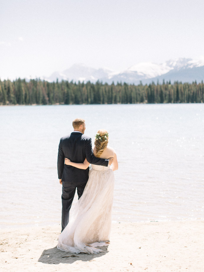 Edith Lake Wedding Jasper - Jasper Wedding Photographers