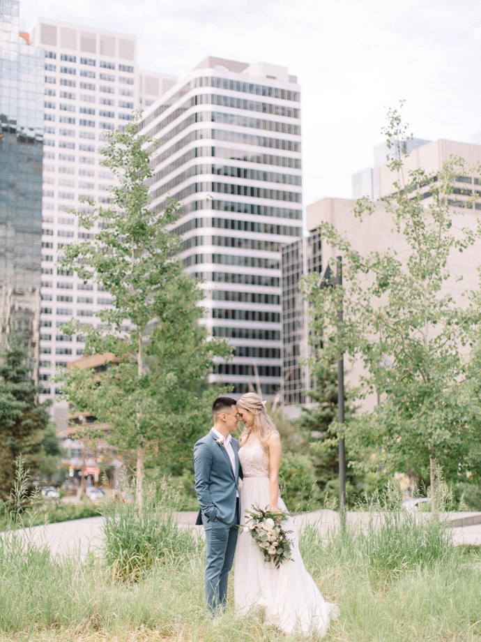 the hudson wedding - calgary wedding photographers