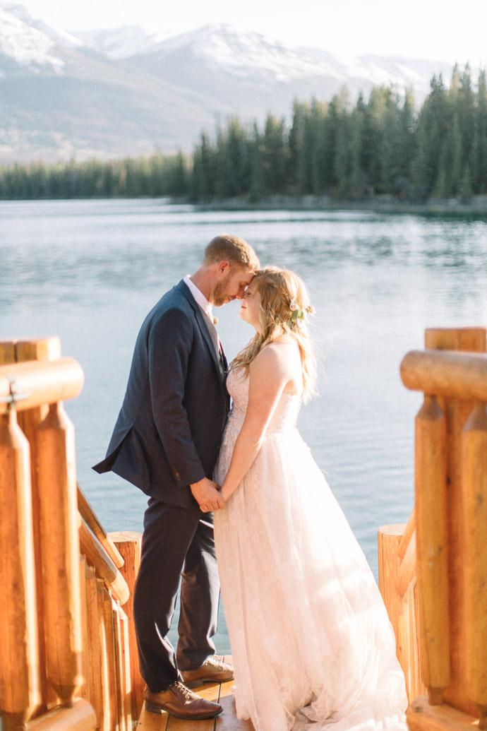 Lakeside Wedding - Jasper Wedding Photographers