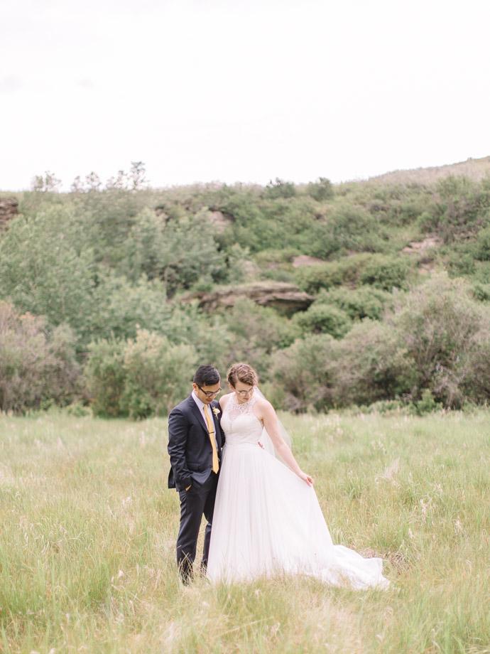 wedding at cochrane ranchehouse