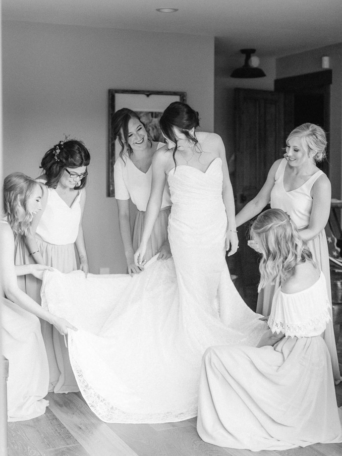 bridesmaids getting ready - Calgary Wedding Photographers-27