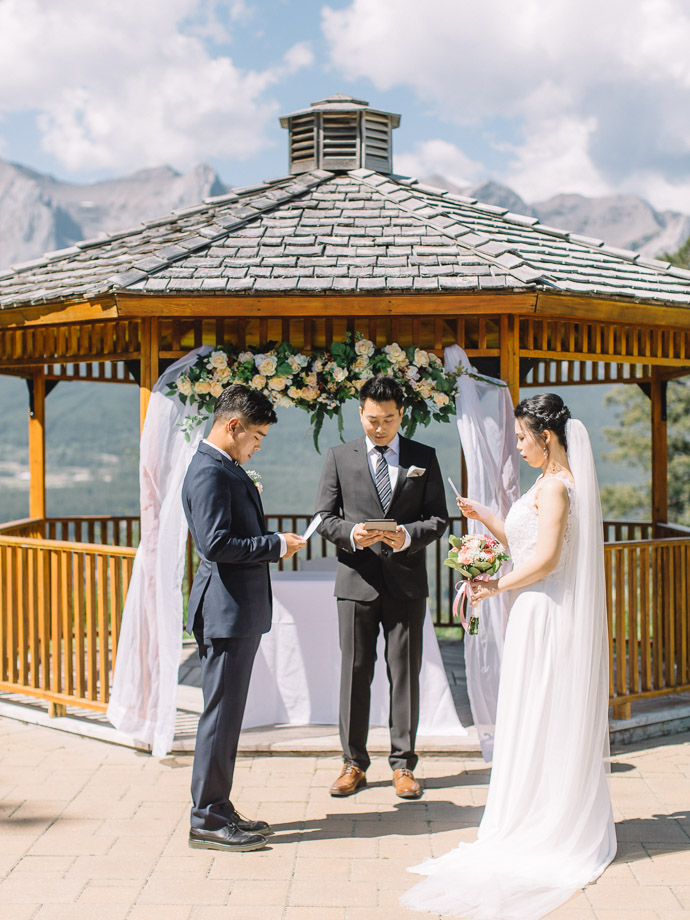 Silvertip Wedding Canmore
