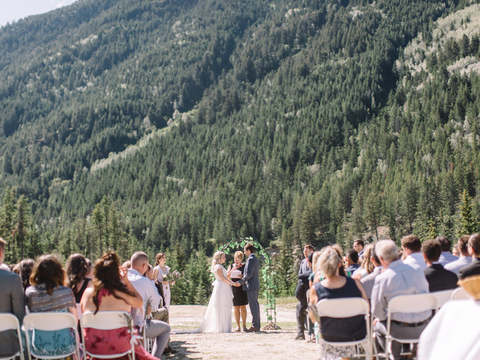 choppers landing - Panorama Ski Resort Wedding-39