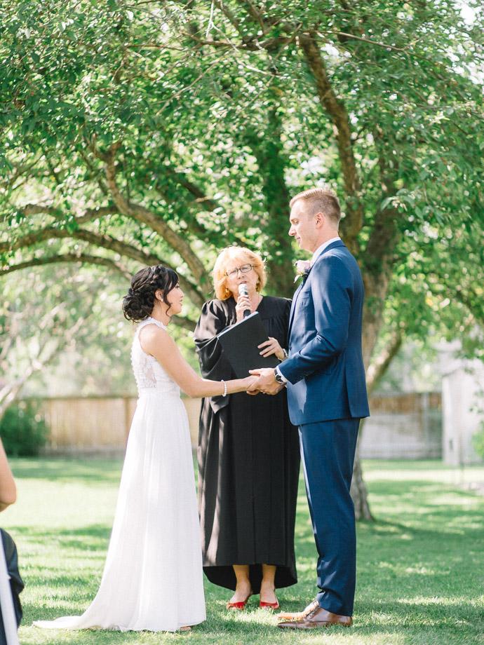 Ceremony - Rouge Restaurant Wedding