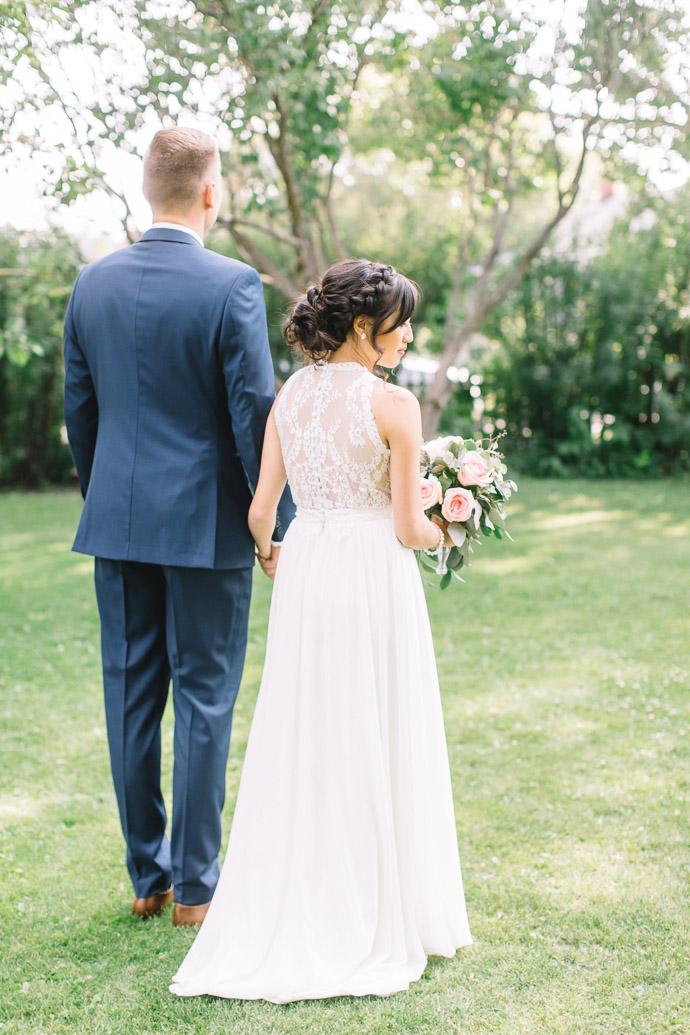 bride and groom - Rouge Restaurant Wedding