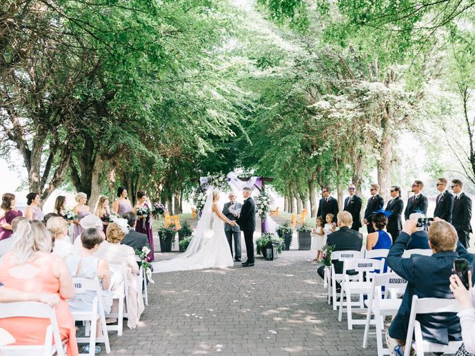 Ceremony at St. Eugene - St. Eugene Resort Wedding-21