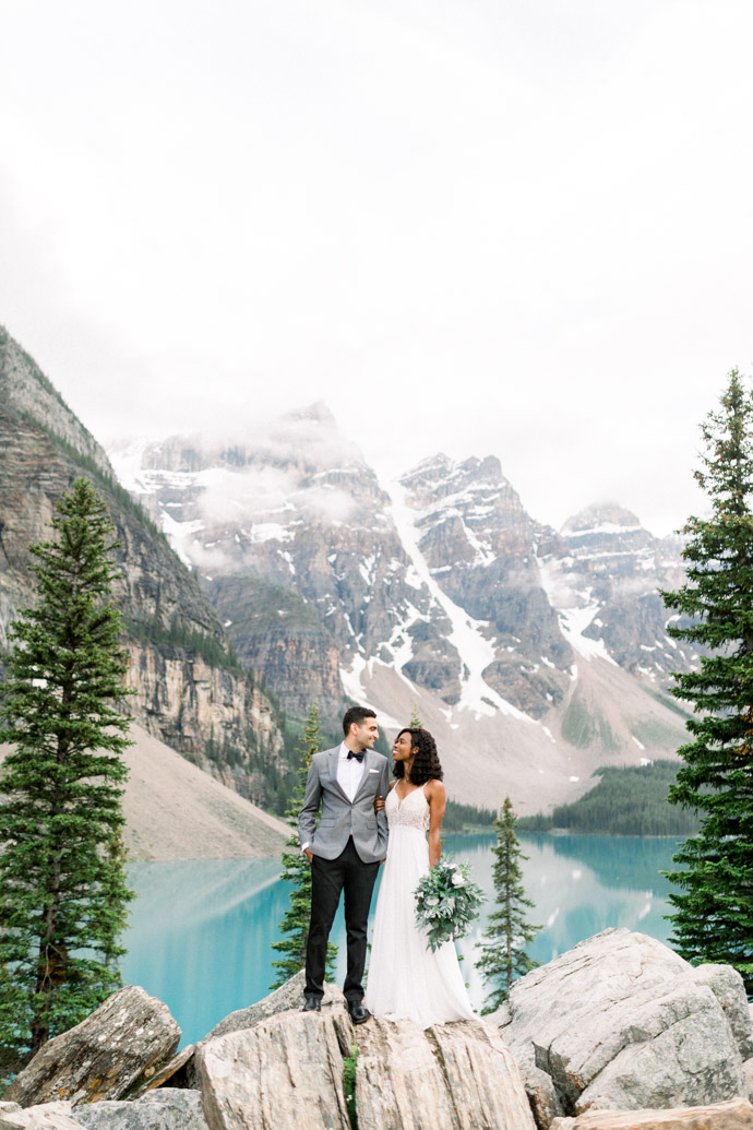 moraine lake elopement