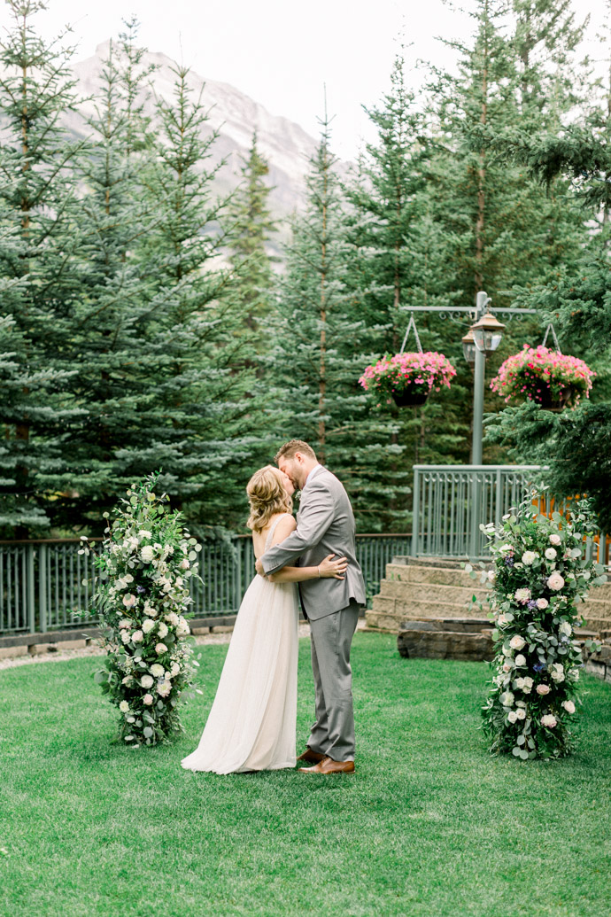 Wedding at Rimrock Hotel Banff